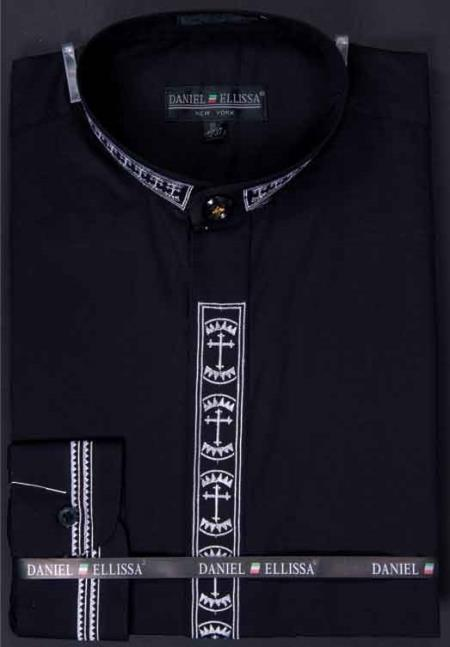 Mens-Banded-Collar-Black-Shirt-26853.jpg