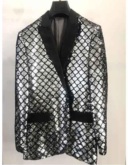Mens-Black-Checked-Pattern-Blazer-39762.jpg
