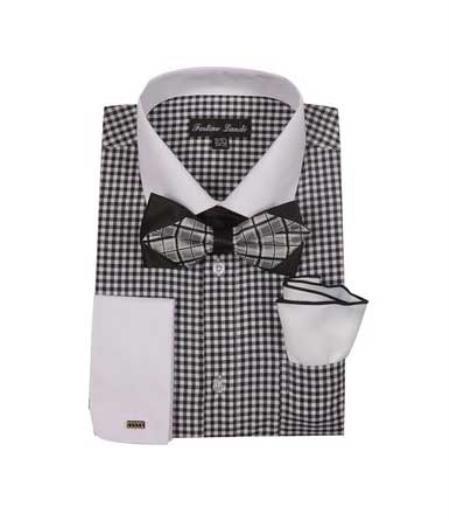 color black Checks Shirt