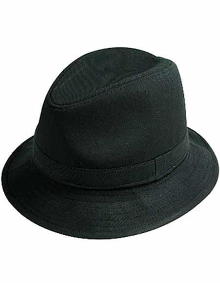 af05bc3dcb Mens New Style Designer Felt Bucket Black Hat