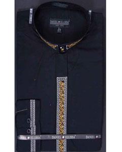 color black Dress Shirt
