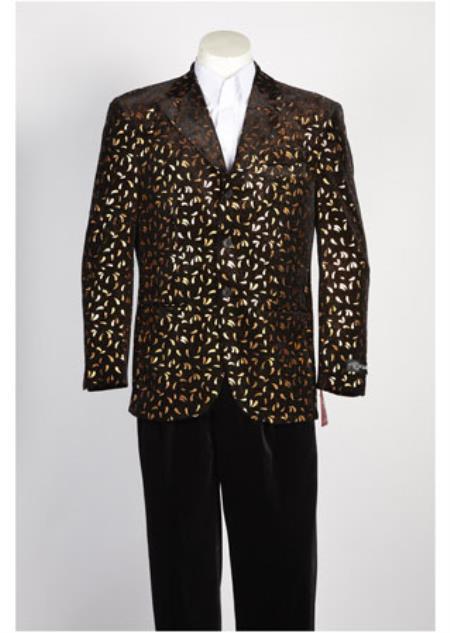 Black Gold Color Sportcoat
