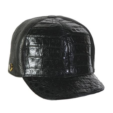 Mens-Black-Hornback-Skin-Cap-12380.jpg