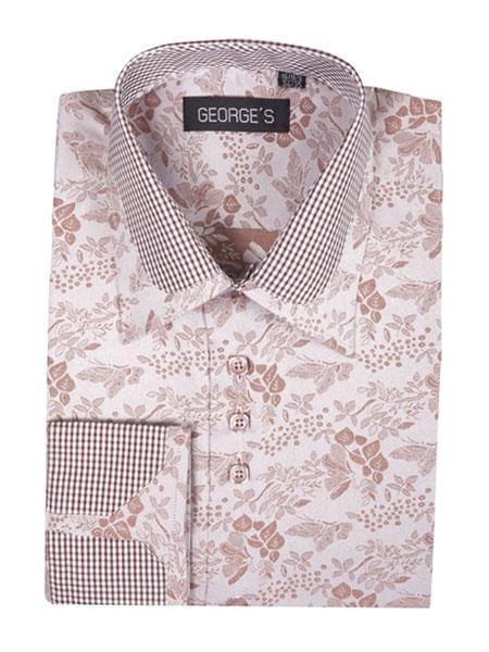 Mens-Brown-Cotton-Blend-Shirt-32153.jpg