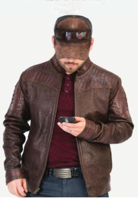 Mens-Brown-Exotic-Skin-Jacket-33030.jpg