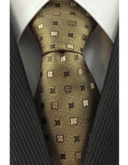 Mens-Brown-Woven-Polyster-Necktie-32232.jpg