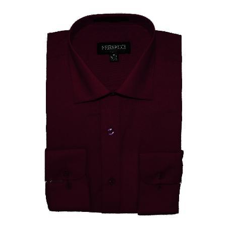 Mens-Burgundy-Color-Shirt-12309.jpg