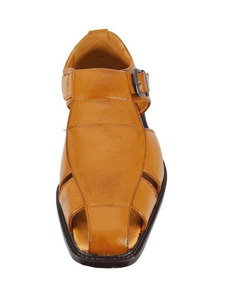 Mens Casual Adjustable Straps Sandal