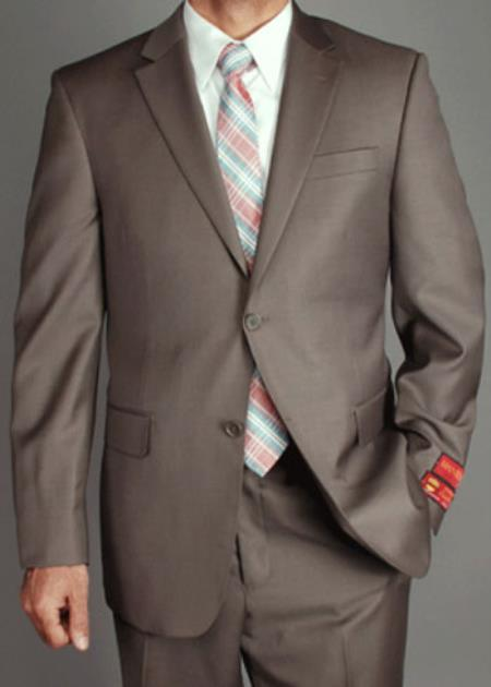 Mantoni US classic Walnut Taupe - High End Suits - High Quality Suits