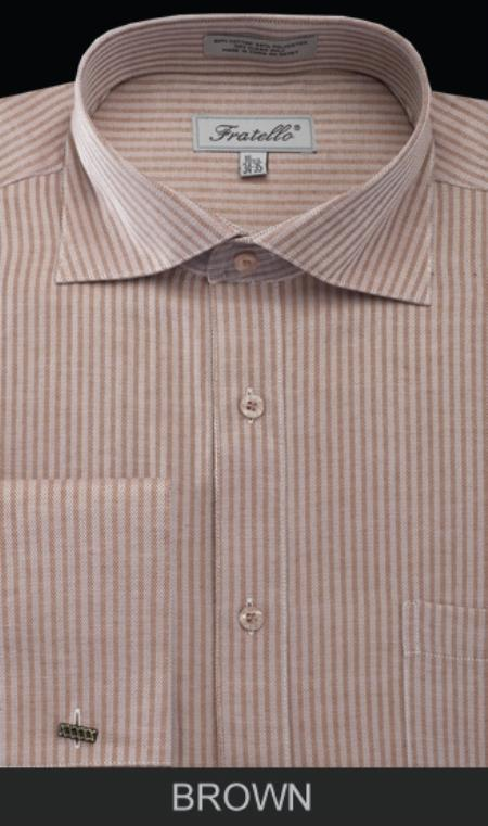 Mens-French-Cuff-Brown-Shirt-12663.jpg