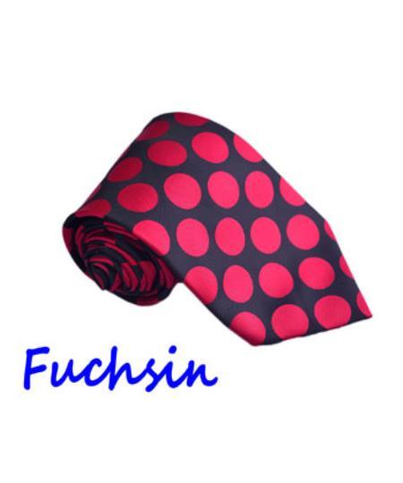 Mens-Fuchsin-Color-Polyester-Tie-29304.jpg