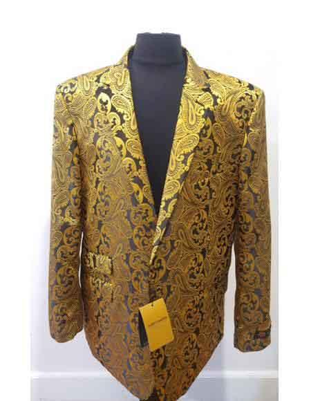 Gold Color Dinner Jacket