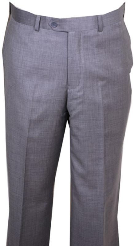 Light Gray Dress Pants | Trendy pants | flat front slacks