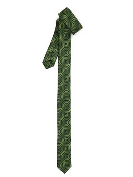 1960s – 70s Men's Ties   Skinny Ties, Slim Ties Retro Geometric Fully Lined Man Made Fiber Satin Fabric Green Superior fabric Skinny Slim Tie $30.00 AT vintagedancer.com