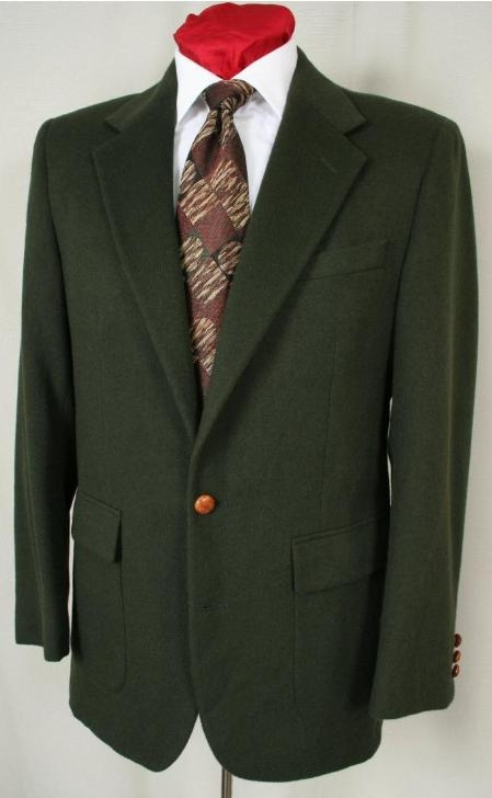 1 Button Coco Chocolate brown Sport Coat with Suede Trim 2 S