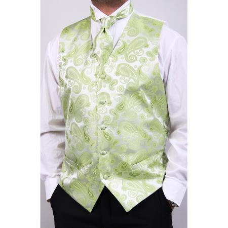 Mens-Green-Four-Piece-Vest-19458.jpg