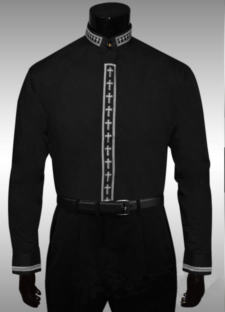 Mens-Mandarin-Collar-Black-Shirts-13126.jpg