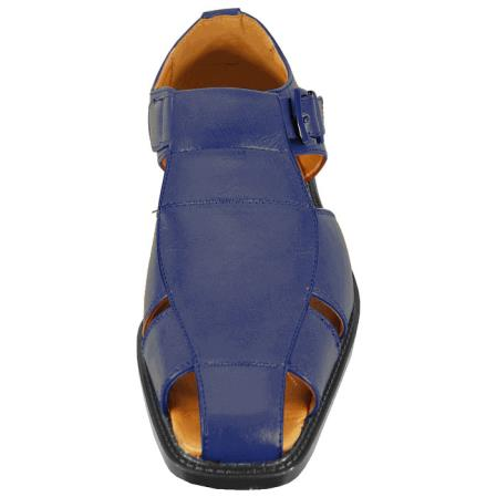 Mens Navy Color Casual Sandal