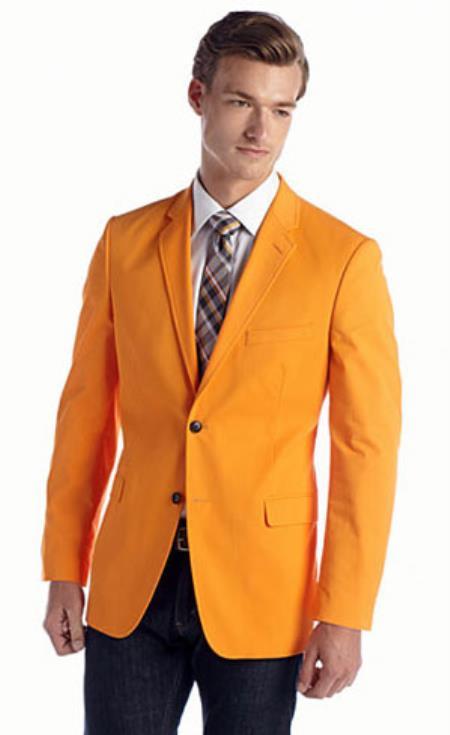 Mens-Orange-Cotton-Blazer-25351.jpg