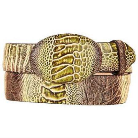 Mens-Ostrich-Skin-Green-Belt-23742.jpg