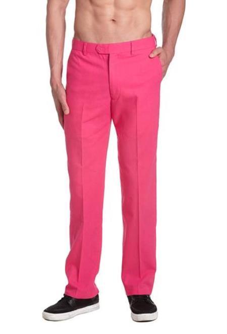 Mens-Pink-Color-Cotton-Pants-23671.jpg
