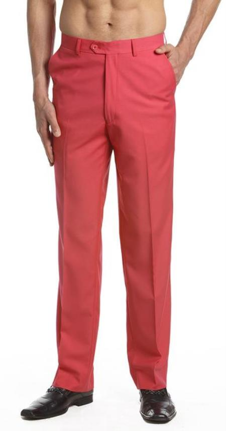 Mens-Pink-Flat-Front-Slacks-23666.jpg