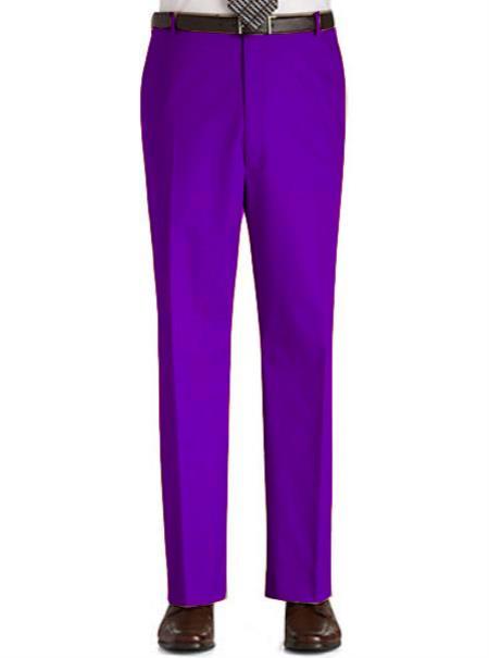 Mens-Purple-Flat-Front-Slacks-12643.jpg