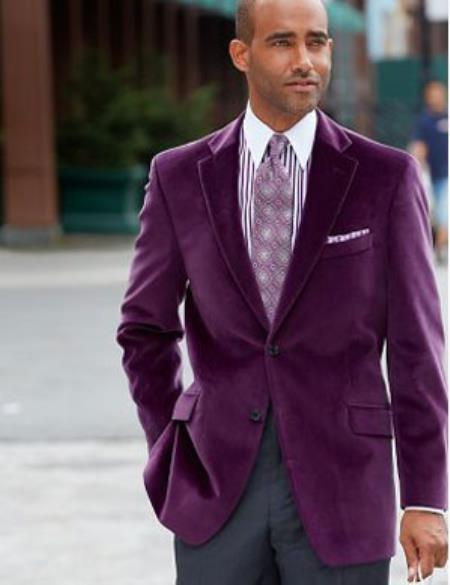 You searched for: purple sport coat! Etsy is the home to thousands of handmade, vintage, and one-of-a-kind products and gifts related to your search. plaid sport coat purple plaid blazer men's sports coat s sports coat vintage menswear purple mens suit coat 1 button size 42 bootsandbeards. 5 out of 5 stars (58) $ Favorite.