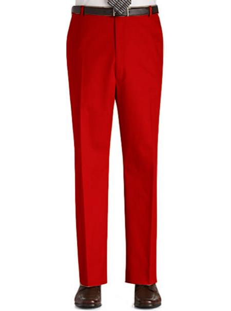Mens-Red-Flat-Front-Slacks-12640.jpg
