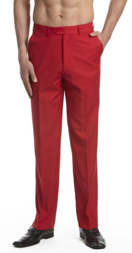 Mens-Red-Flat-Front-Slacks-23662.jpg