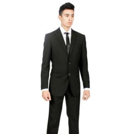 Business Suits for Men with Mini Pindots Teakweave Nailhead