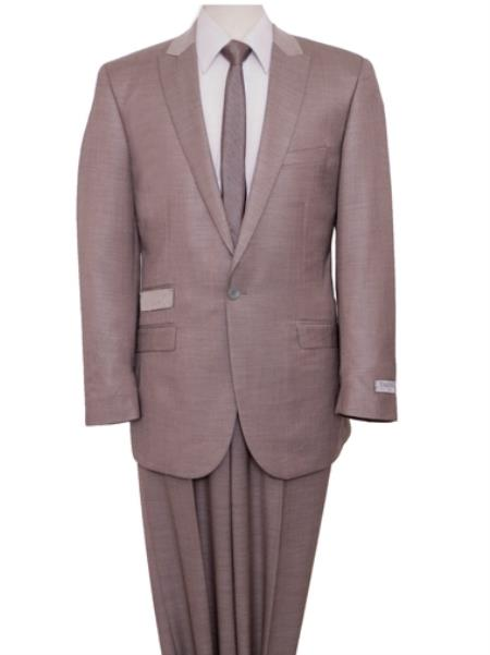 Beige Fit Suit