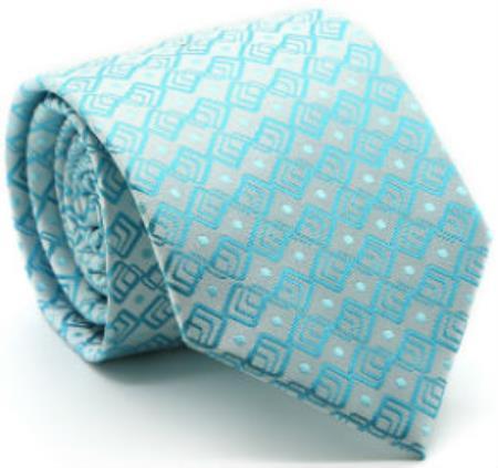 Mens-Square-Pattern-Turquoise-Tie-23924.jpg