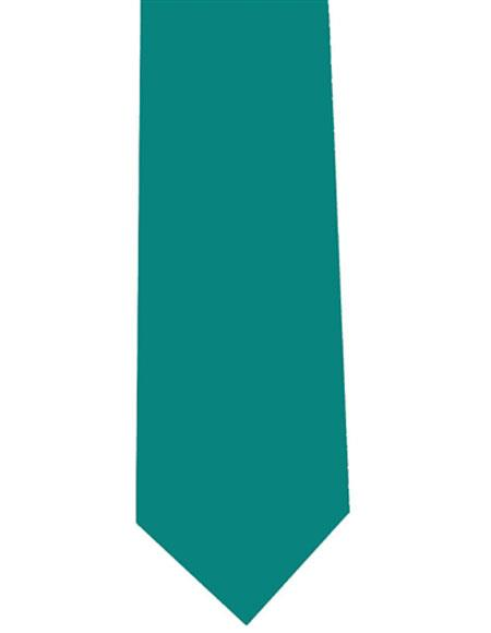 Mens-Teal-Color-Polyester-Tie-28141.jpg