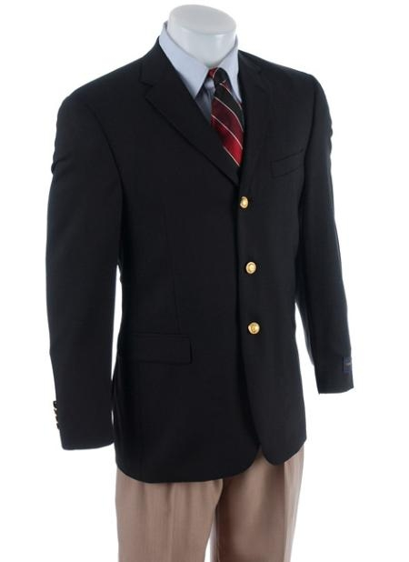 Mens-Three-Buttons-Black-Blazer-2115.jpg