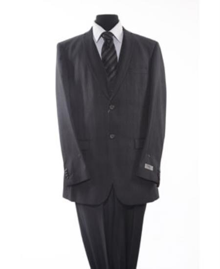 2Button Black Suit