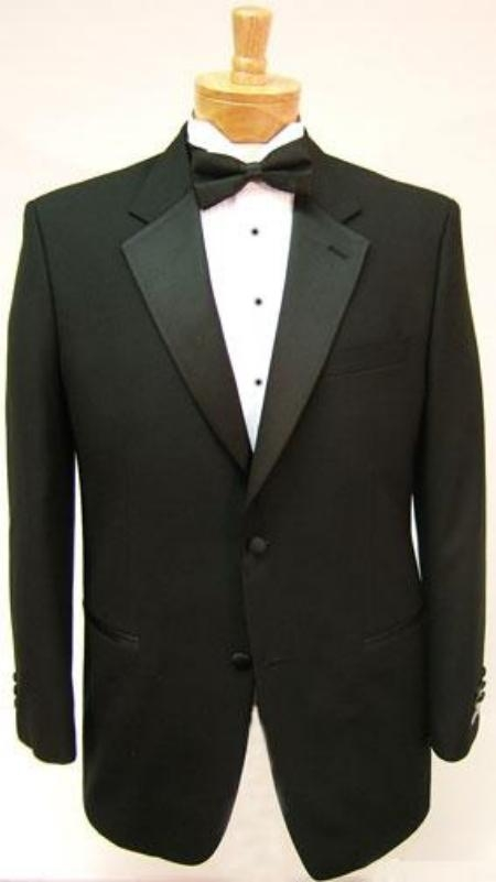ID# GB78 $775 Package Deal High crafted professionally Umo 2-Button Superior fabric 120's Wool fabric Tuxedo + Shirt + Bow Tie
