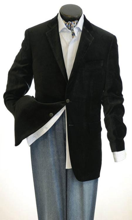 Mens-Two-Buttons-Black-Sportcoat-10388.jpg