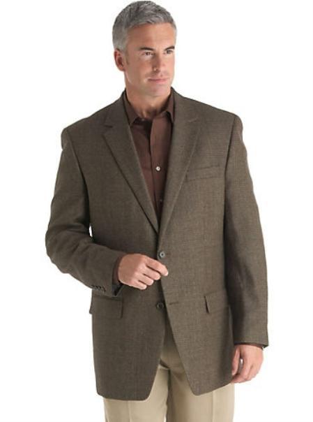 Mens-Two-Buttons-Brown-Blazer-9870.jpg
