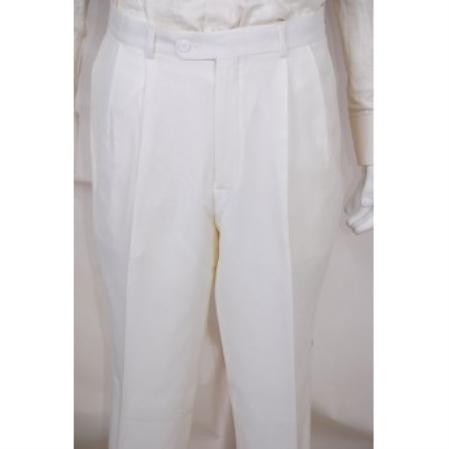 White (Jacket   Pants ) In 4/5/7 Buttons Style