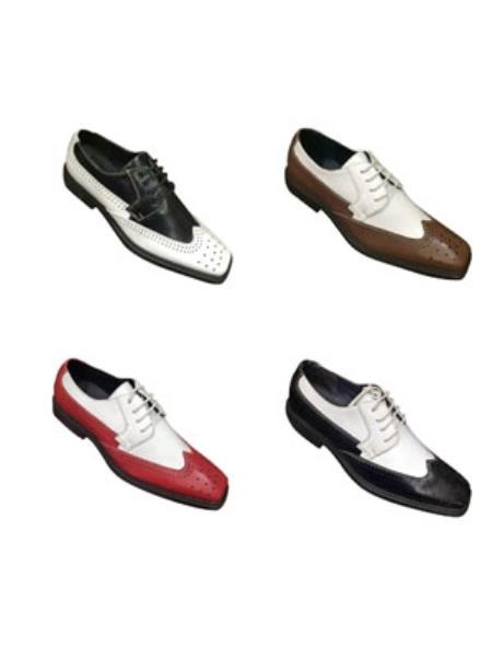 Mens Wingtip Oxford Shoes
