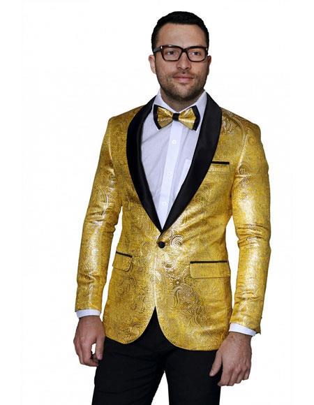 Gold Sport Coat Han Coats