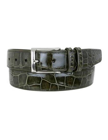 Olive-Alligator-Skin-Handmade-Belt-35199.jpg