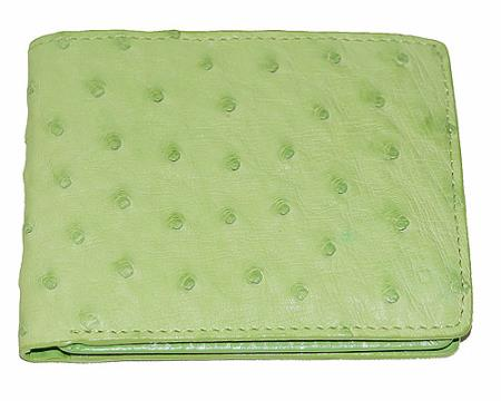 Ostrich-Leather-Mint-Color-Wallet-13678.jpg
