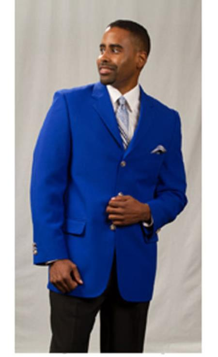 Pacelli Jackson Three buttons Classic Royal Light Blue Perfect for wedding Best Cheap Blazer Suit Jacket For Affordable Cheap Priced Unique Fancy For Men Available Big Sizes on sale Men Affordable Sport Coats Sale Jacket