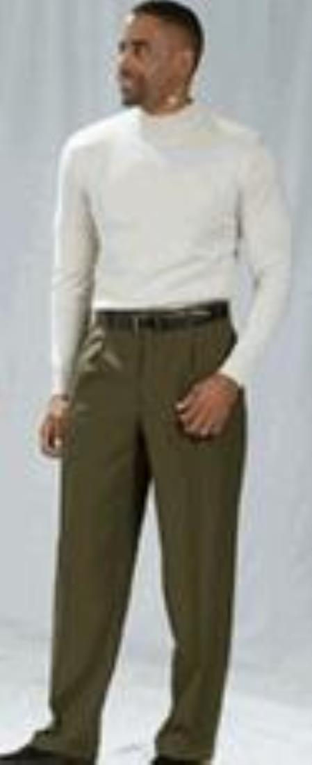 Pacelli-Olive-Color-Dress-Pants-30137.jpg