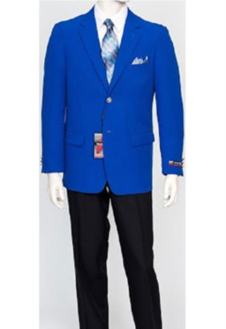 Men's Pacelli Classic Best Cheap Blazer Suit Jacket For Affordable Cheap Priced Unique Fancy For Men Available Big Sizes on sale Men Jacket Royal Light Blue Perfect for wedding Affordable Sport Coats Sale