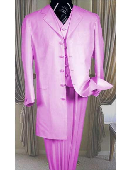 Pink Light Weight Zoot Suit