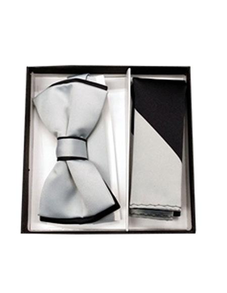 Polyester-Black-Gray-Bowtie-Hankie-36229.jpg