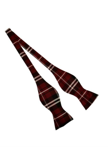 Polyester-Burgundy-Plaid-Pattern-Bowtie-36245.jpg